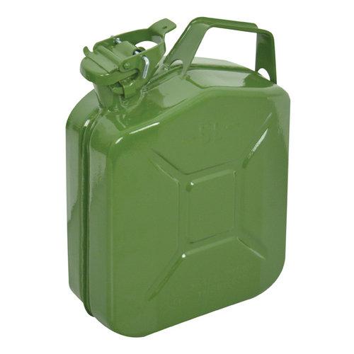Carpoint Carpoint Benzinekan 5Ltr Groen Metaal UN-keur