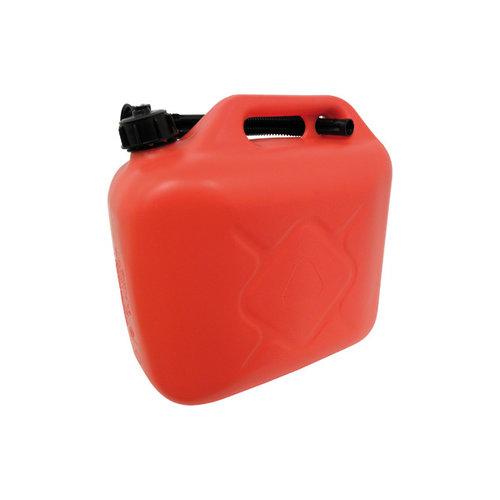 Carpoint Carpoint kunststof benzinekan met flexibele schenktuit en schroefdop. Geschikt voor het veilig vervoeren en opslaan van 5 liter (loodvrije) benzine of diesel. De extra lange flexibele schenktuit wordt, bij het niet gebruiken, in het handvat geklemd. Door