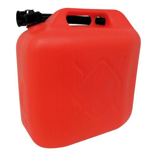 Carpoint Carpoint kunststof benzinekan met flexibele schenktuit en schroefdop. Geschikt voor het veilig vervoeren en opslaan van 20 liter (loodvrije) benzine of diesel. De extra lange flexibele schenktuit wordt, bij het niet gebruiken, in het handvat geklemd. Door