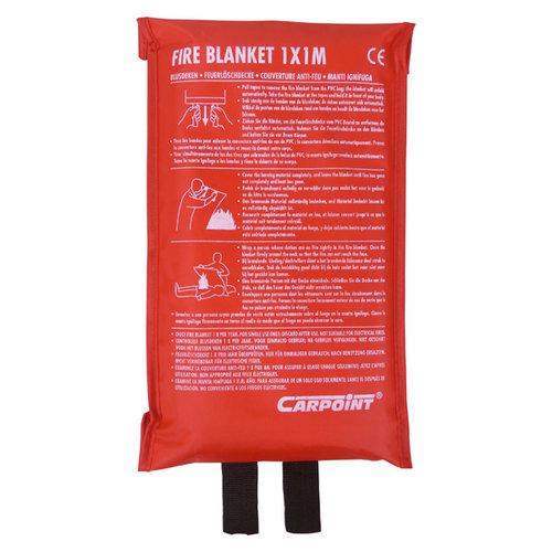 Carpoint Blusdeken van fiberglas. Maat 1 x 1 m.