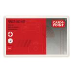 Carpoint Deze Carpoint EHBO-set Euro is altijd handig om in de auto te hebben. In een aantal landen is het zelfs verplicht om een verbandtrommel in de auto te hebben. In deze 41-delige EHBO set zitten alle benodigdheden voor eerste hulp bij ongelukken. Inclusief E
