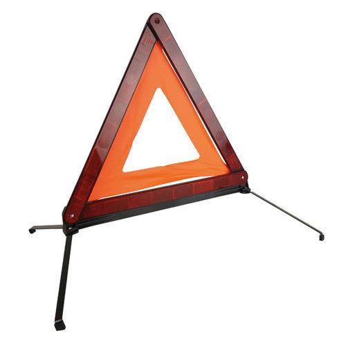 Carpoint Waarschuw mede weggebruikers met het Carpoint gevarendriehoek als u met pech aan de kant van de weg komt te staan. Het reflecterende Carpoint gevarendriehoek is makkelijk uit te vouwen en staat stabiel op de vier uitklapbare voeten. Voorzien van een extra