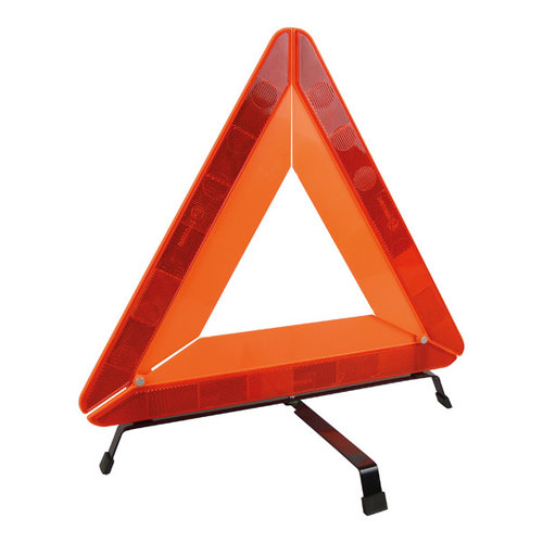 Carpoint Waarschuw mede weggebruikers met het zware Carpoint gevarendriehoek als u met pech aan de kant van de weg komt te staan. Het reflecterende Carpoint gevarendriehoek is makkelijk uit te vouwen en staat uiterst stabiel op de draaibare voeten. Voorzien van ee