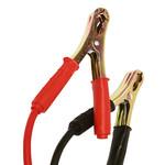 Carpoint Unieke Carpoint startkabels met gele veiligheidsplug met polariteitsaanduiding en LED indicatie. LED gaat branden als startkabel juist is aangesloten. Geschikt voor 6, 12 en 24 Volt accu's en belastbaar tot 500 ampère. De lengte van de startkabel is 4 met