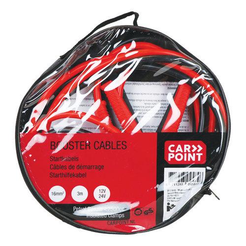 Carpoint Carpoint Startkabelset 16mm² TUV/GS/DIN. Geschikt voor 12 en 24 Volt.