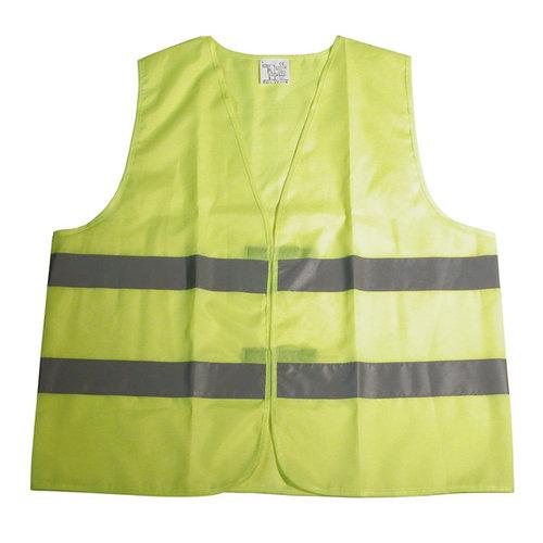 Carpoint Het Carpoint veiligheidsvest Oxford is onmisbaar in iedere auto en in veel Europese landen verplicht om in de auto te hebben. De reflecterende strepen zijn in het donker vanaf een grote afstand zichtbaar. In opvallende gele kleur, maat XL.