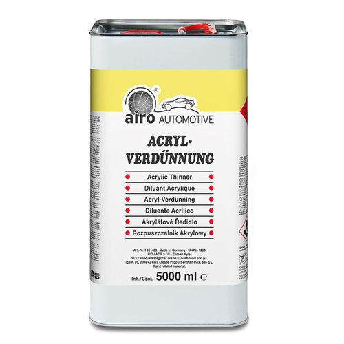 AIRO-CHEMIE 5L acryl verdunner, hoogwaardige kwaliteit