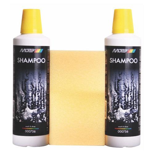 Motip MOTIP SHAMPOO WASH AND SHINE 2X 500ML 000756