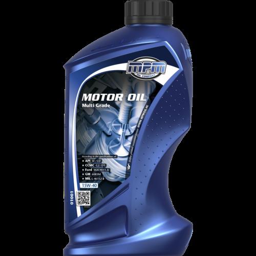 MPM MOTOR OIL 15W-40 MULTI GRADE 1 LITER 01001