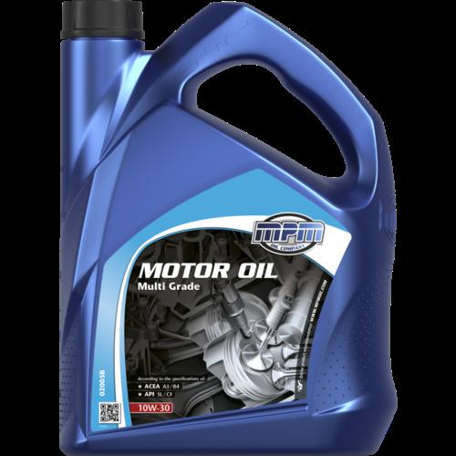 MPM MOTOR OIL 10W-30 MULTI GRADE 5 LITER 02005B