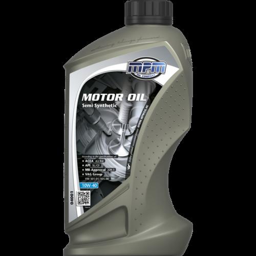 MPM MOTOR OIL 10W-40 SEMI SYNTHETIC 1 LITER 04001