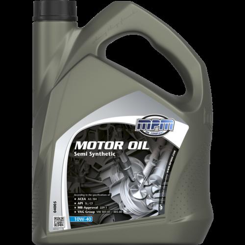 MPM MOTOR OIL 10W-40 SEMI SYNTHETIC 5 LITER 04005