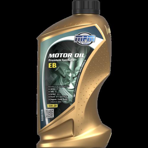 MPM MOTOR OIL 5W-20 PREMIUM SYNTHETIC EB 1 LITER 05001EB