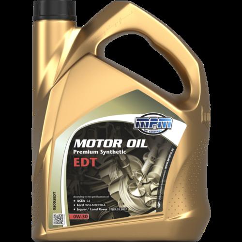 MPM MOTOR OIL 0W-30 PREMIUM SYNTHETIC EDT 5 LITER 050056EDT