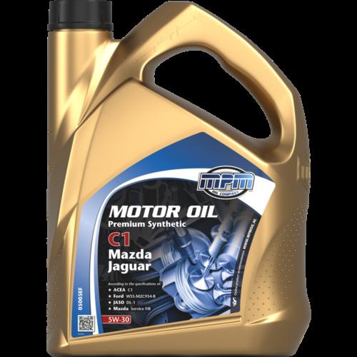 MPM MOTOR OIL 5W-30 PREMIUM SYNTHETIC C1 MAZDA / JAGUAR 5 LITER 05005EF