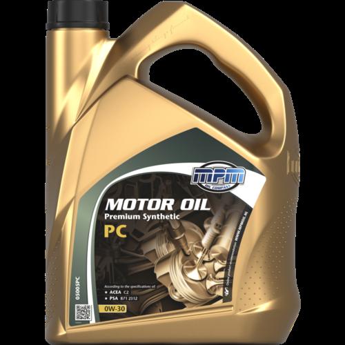 MPM MOTOR OIL 0W-30 PREMIUM SYNTHETIC PC 5 LITER 05005PC