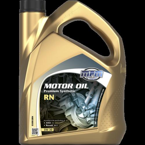 MPM MOTOR OIL 5W-30 PREMIUM SYNTHETIC RN 5 LITER 05005RN