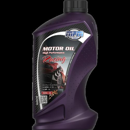 MPM MOTOR OIL 10W-50 HIGH PERFORMANCE RACING 1 LITER 06001R