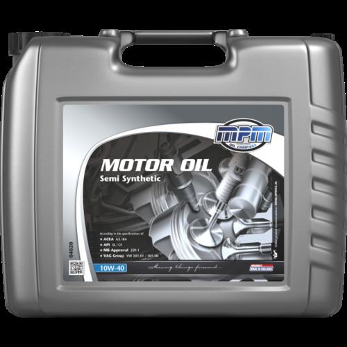 MPM MOTOR OIL 10W-40 SEMI SYNTHETIC 20 LITER 04020