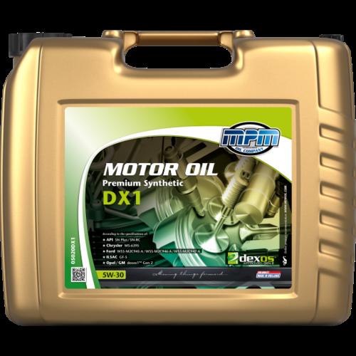 MPM MOTOR OIL 5W-30 PREMIUM SYNTHETIC DX1 20 LITER 05020DX1
