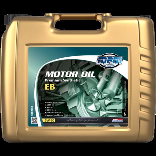 MPM MOTOR OIL 5W-20 PREMIUM SYNTHETIC EB 20 LITER 05020EB