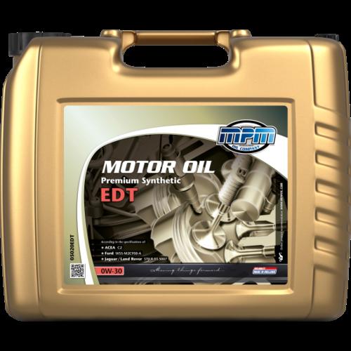 MPM MOTOR OIL 0W-30 PREMIUM SYNTHETIC EDT 20 LITER 05020EDT