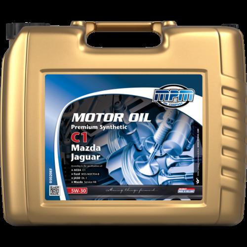 MPM MOTOR OIL 5W-30 PREMIUM SYNTHETIC C1 MAZDA / JAGUAR 20 LITER 05020EF