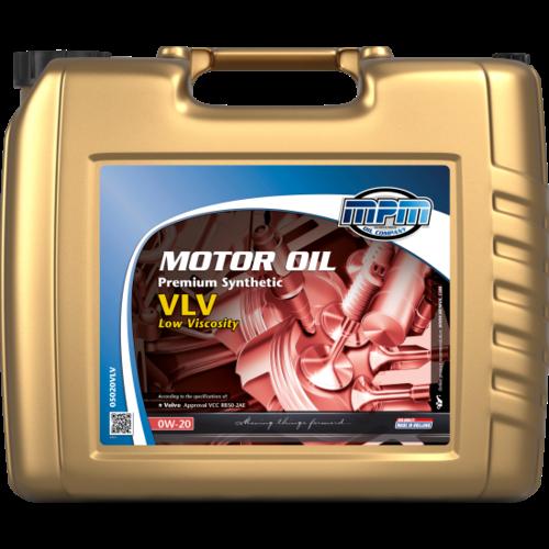 MPM MOTOR OIL 0W-20 PREMIUM SYNTHETIC LOW VISCOSITY 20 LITER 05020VLV