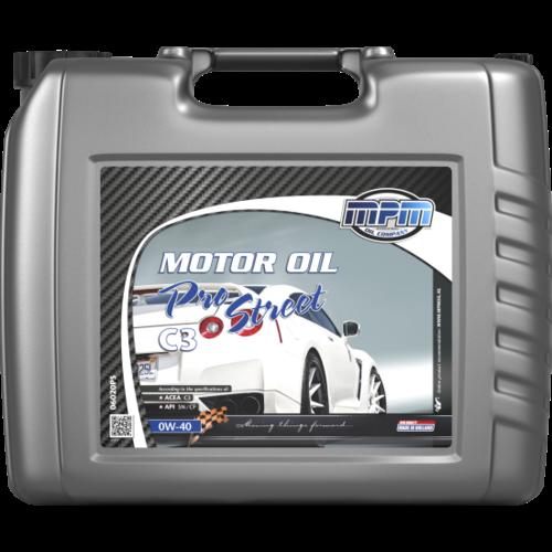 MPM MOTOR OIL 0W-40 PRO STREET C3 20 LITER 06020PS