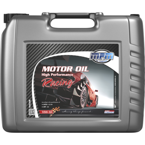MPM MOTOR OIL 10W-50 HIGH PERFORMANCE RACING 20 LITER 06020R