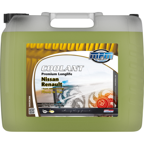 MPM COOLANT PREMIUM LONGLIFE -40°C RENAULT / NISSAN READY TO USE 20 LITER  86020CRN