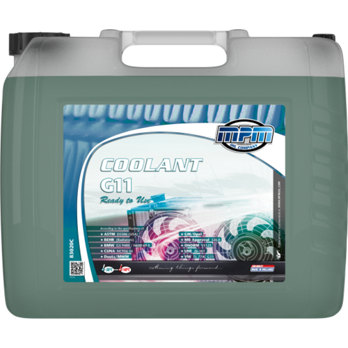 MPM COOLANT -38°C G11 READY TO USE 20 LITER  83020C