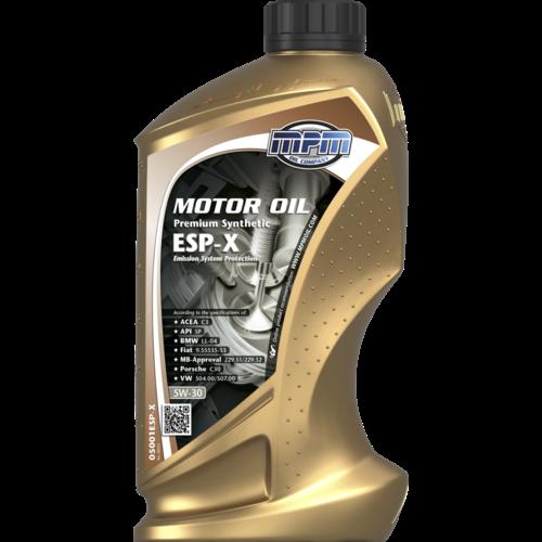 MPM MOTOR OIL 5W-30 PREMIUM SYNTHETIC ESP-X 1 LITER