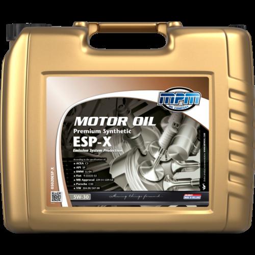 MPM MOTOR OIL 5W-30 PREMIUM SYNTHETIC ESP-X 20 LITER