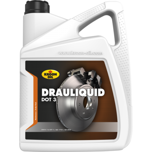 Kroon-oil Remvloeistof Dot 3 Kroon-Olie 5 liter 04303