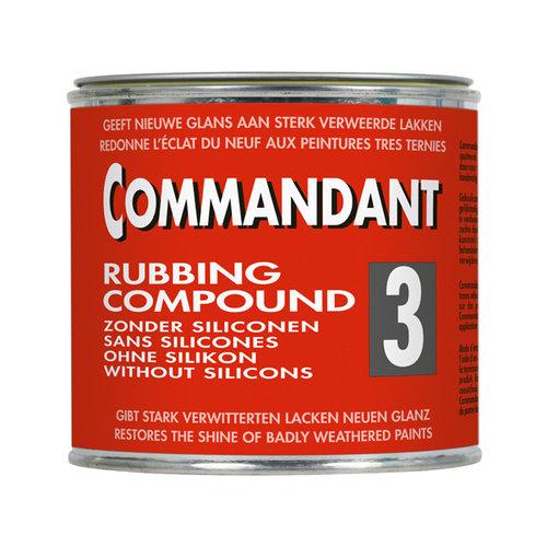 Commandant Commandant 3 polijstmiddel grof 500gr