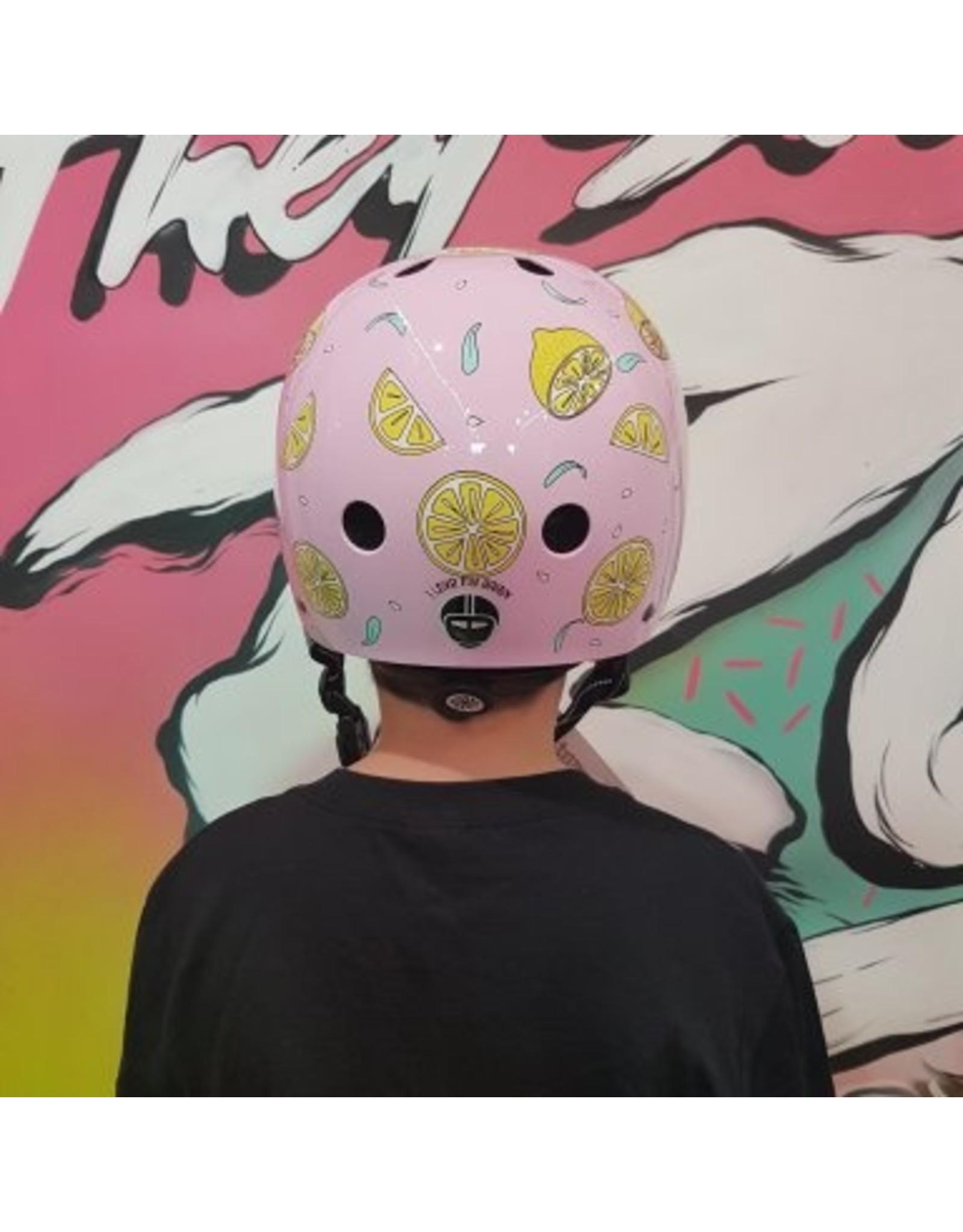 Nutcase fietshelm kind Street Pink lemonade