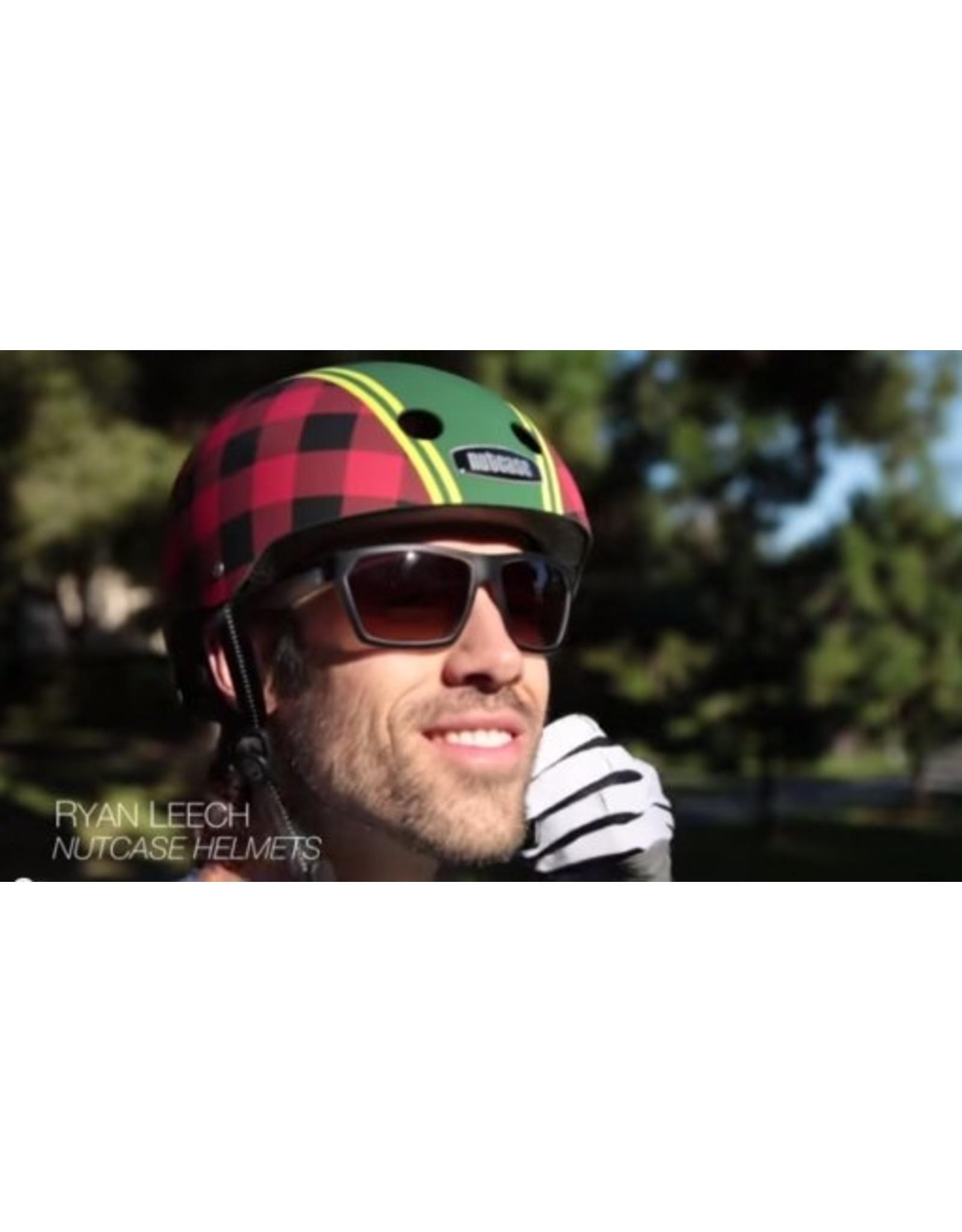 Nutcase fietshelm kind Gen3 Lumberjack