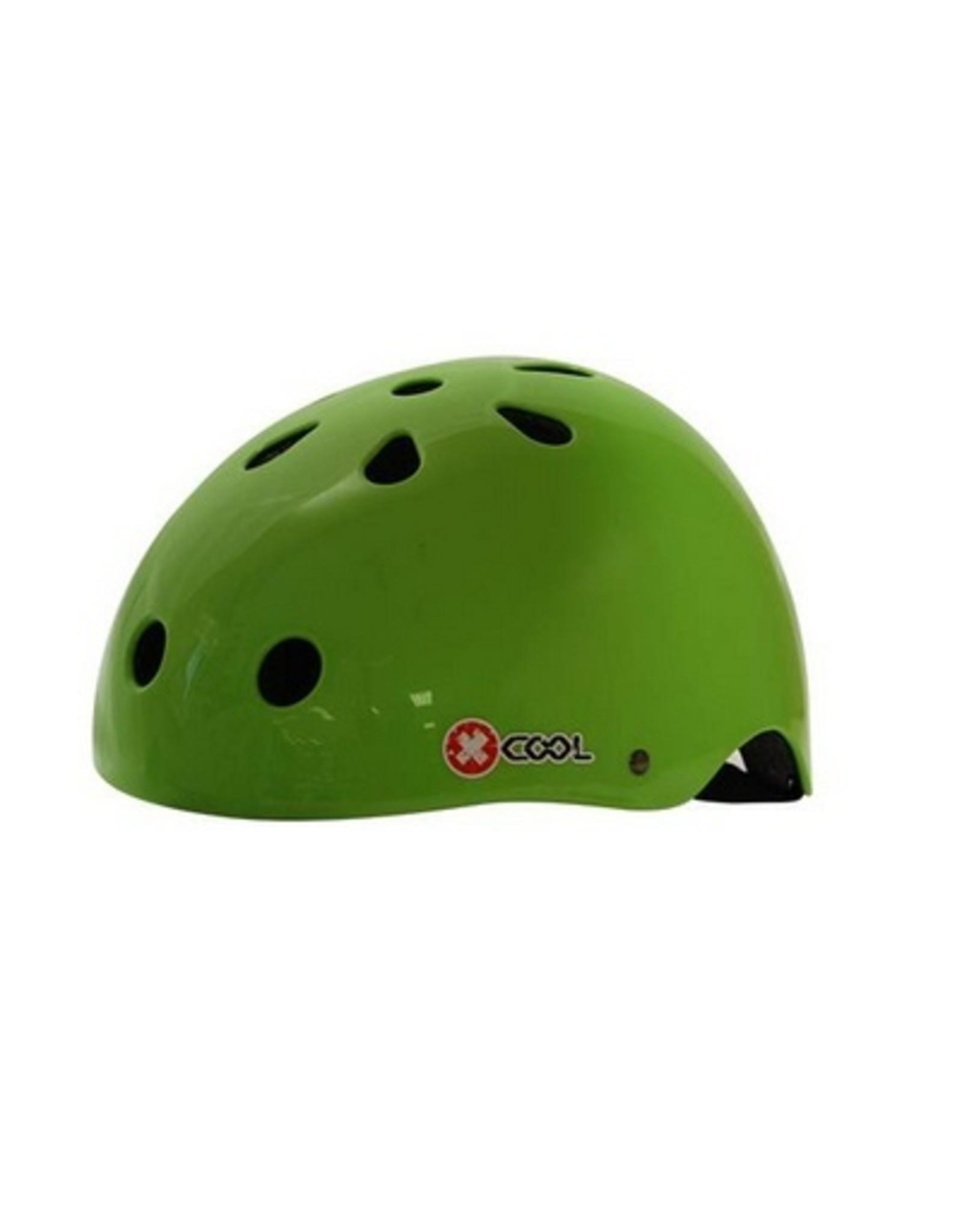 XCOOL fietshelm kleuter Green bean