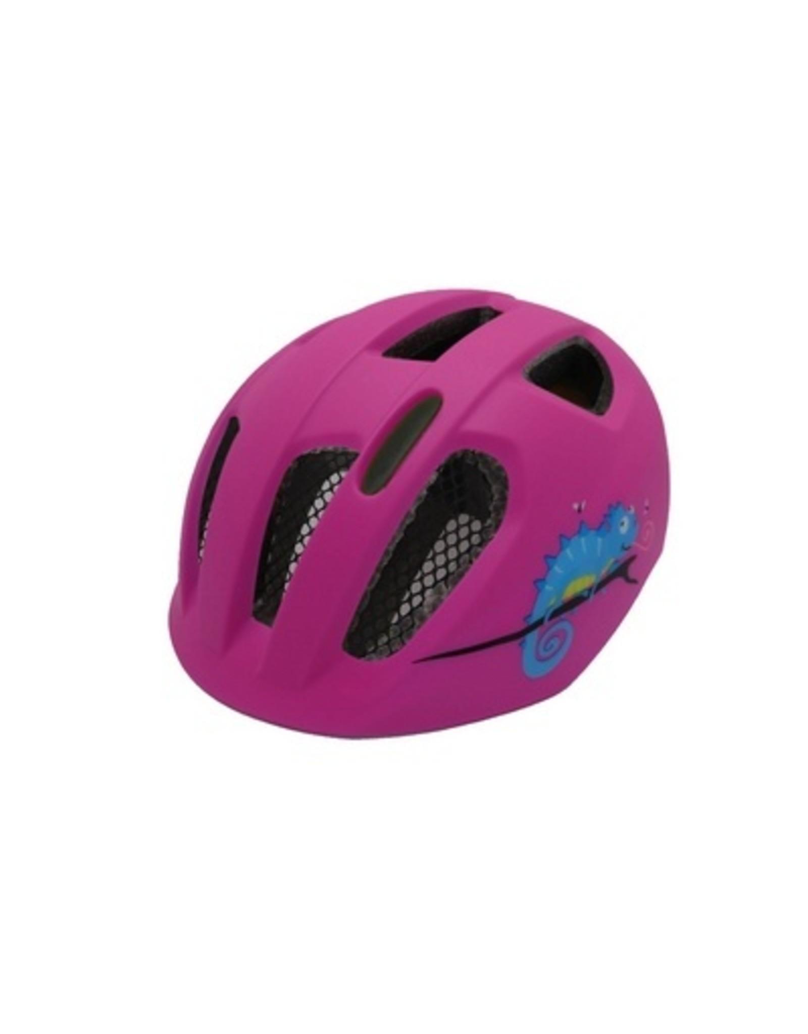 QT fietshelm kind Nova roze