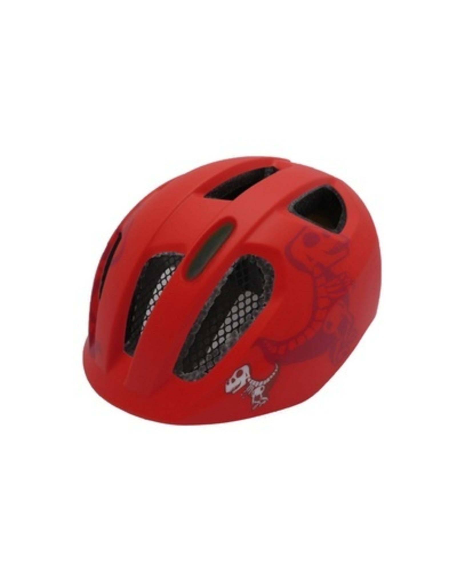 QT fietshelm kind Nova rood