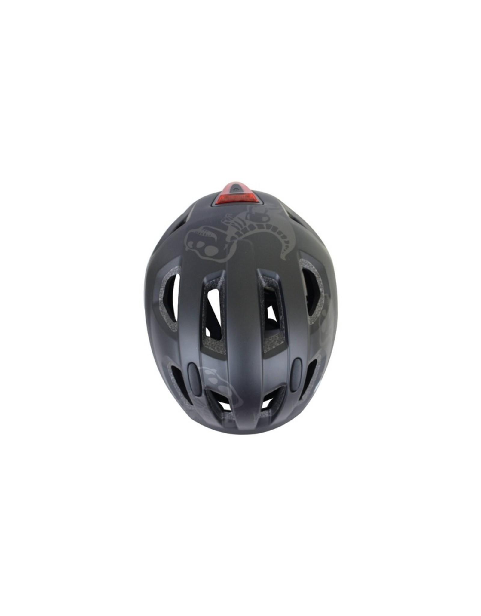 QT fietshelm kind Nova zwart