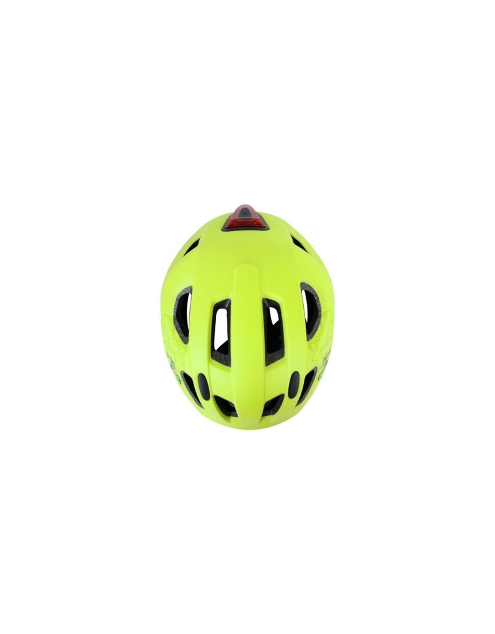 QT fietshelm kind Nova geel