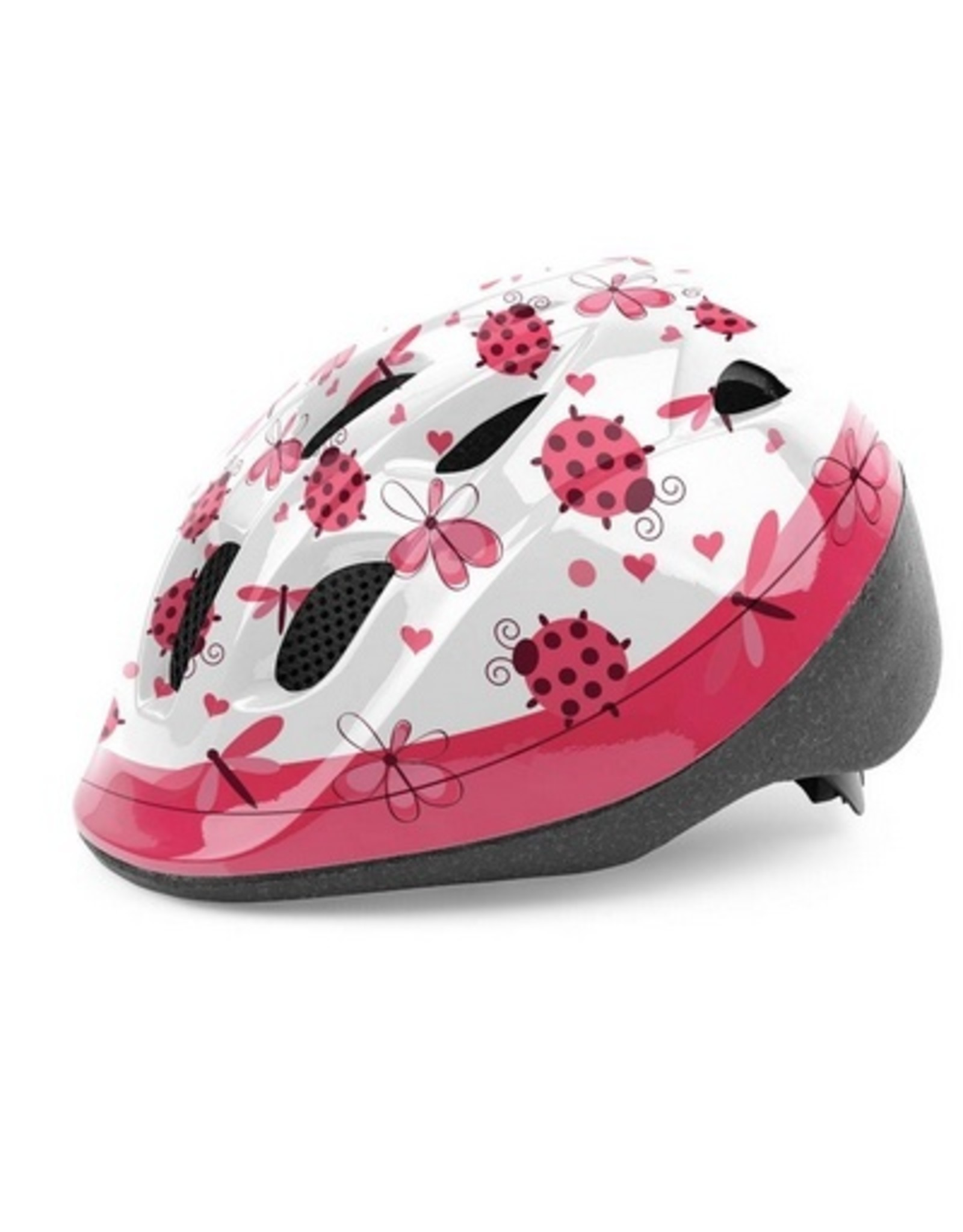 QT fietshelm kleuter Ladybird
