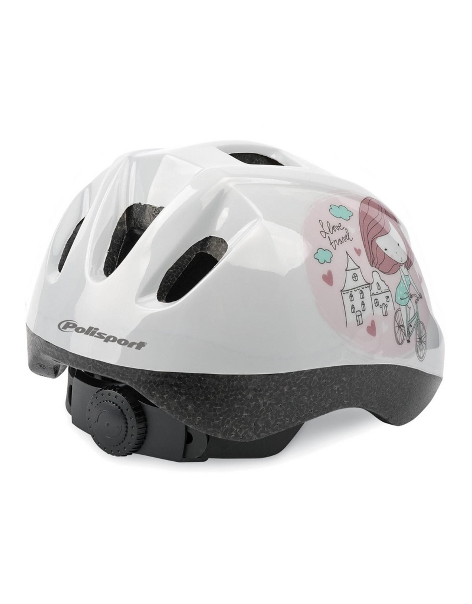 Polisport fietshelm kleuter Princess