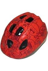 QT fietshelm kleuter Happy Red