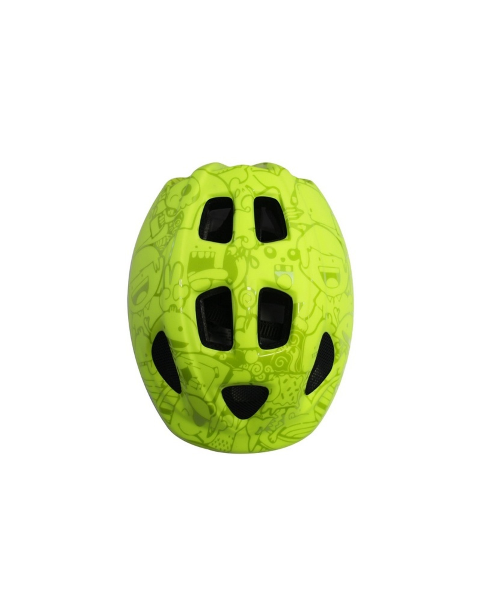 QT fietshelm kleuter Happy Citrus