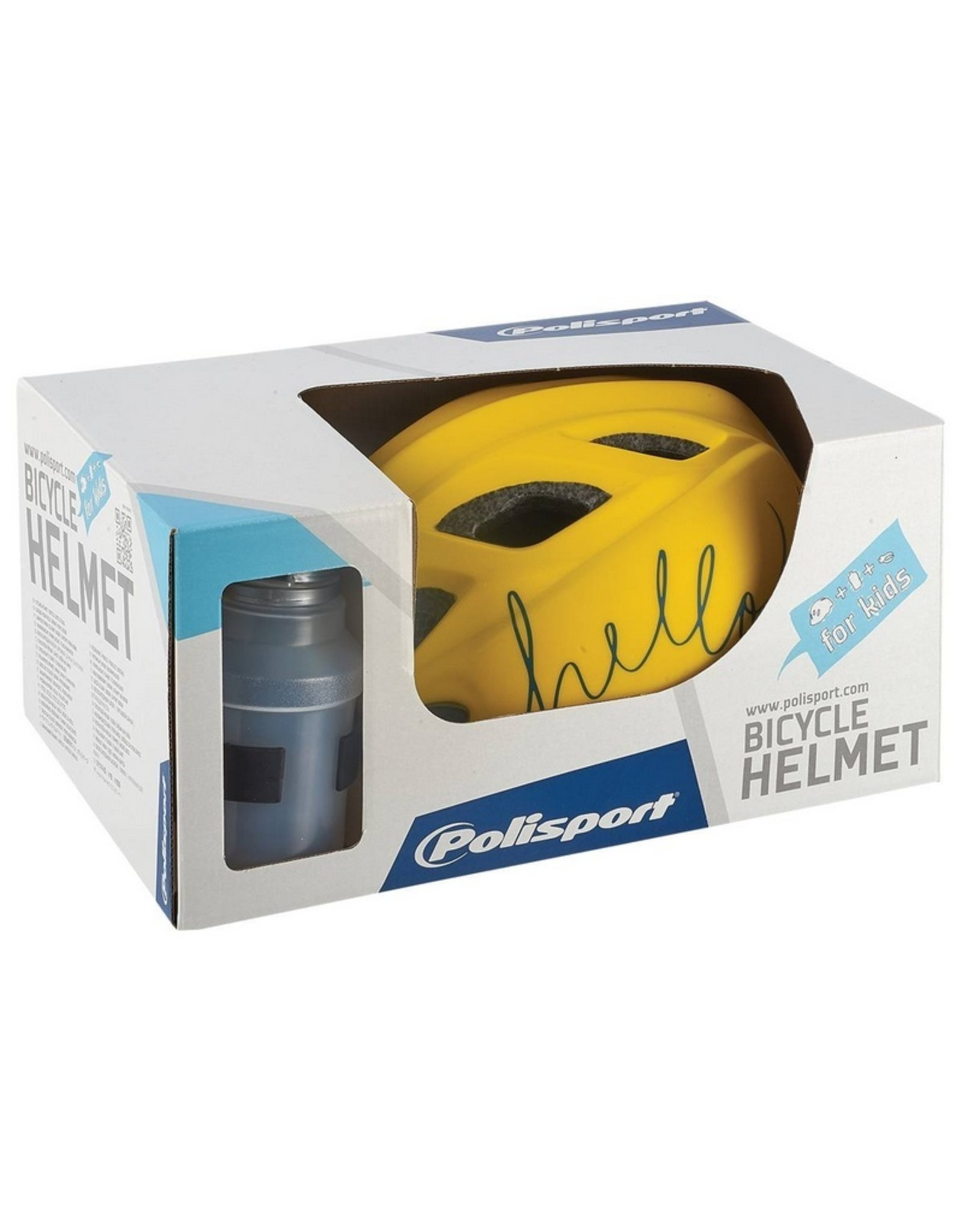 Polisport fietshelm kind Hello