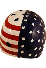 Kiddimoto fietshelm kind USA flag