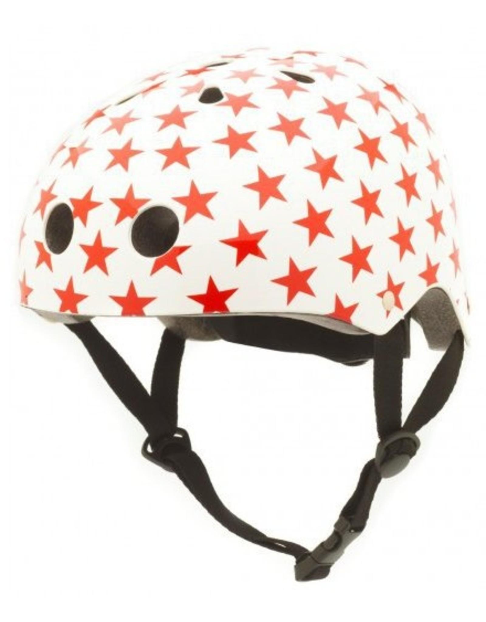 Coconuts fietshelm kleuter Red star